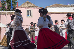 EUROPE PORTUGAL ALGARVE LOULE TRADITIONAL DANCE Royalty Free Stock Image