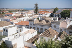 EUROPE PORTUGAL ALGARVE TAVIRA OLD TOWN Royalty Free Stock Images