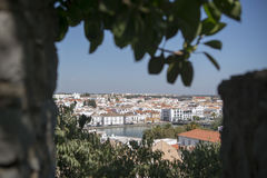 EUROPE PORTUGAL ALGARVE TAVIRA OLD TOWN Royalty Free Stock Photography