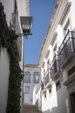 EUROPE PORTUGAL ALGARVE TAVIRA OLD TOWN Royalty Free Stock Photo