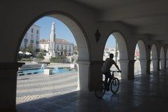 EUROPE PORTUGAL ALGARVE TAVIRA OLD TOWN Royalty Free Stock Photos