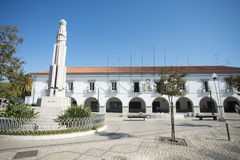 EUROPE PORTUGAL ALGARVE TAVIRA OLD TOWN Royalty Free Stock Image