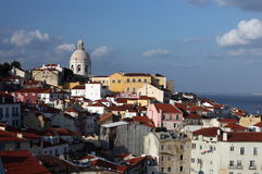 EUROPE PORTUGAL LISBON ALFAMA CHURCH IGREIJA DE SANTA ENGARACIA Royalty Free Stock Images