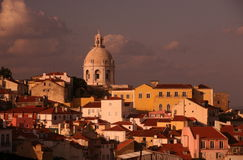 EUROPE PORTUGAL LISBON ALFAMA CHURCH IGREIJA DE SANTA ENGARACIA Royalty Free Stock Image