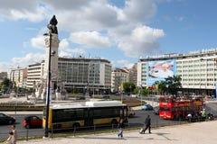 EUROPE PORTUGAL LISBON BAIXA CITY CENTRE Royalty Free Stock Image