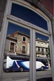 EUROPE PORTUGAL LISBON BAIXA CITY CENTRE. A house in the city centre of Baixa in the city centre of Lisbon in Portugal in Europe Royalty Free Stock Photo