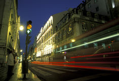 EUROPE PORTUGAL LISBON BAIXA CITY CENTRE Royalty Free Stock Images