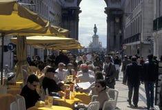 EUROPE PORTUGAL LISBON BAIXA CITY CENTRE Royalty Free Stock Photos