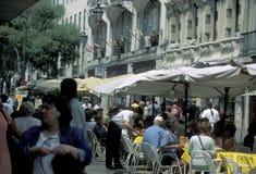 EUROPE PORTUGAL LISBON BAIXA CITY CENTRE Stock Photo