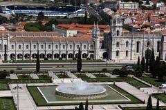 EUROPE PORTUGAL LISBON BELEM JERONIMOS MONASTERY Royalty Free Stock Images