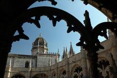 EUROPE PORTUGAL LISBON BELEM JERONIMOS MONASTERY Royalty Free Stock Photography