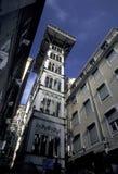 EUROPE PORTUGAL LISBON ELEVADOR DE SANTA JUSTA Royalty Free Stock Photo