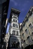 EUROPE PORTUGAL LISBON ELEVADOR DE SANTA JUSTA Royalty Free Stock Photos