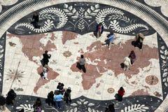 EUROPE PORTUGAL LISBON PADRAO DOS DESCOBRIMENTOS Royalty Free Stock Image