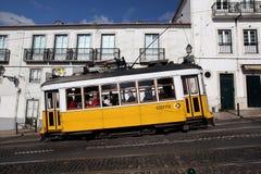 EUROPE PORTUGAL LISBON TRANSPORT FUNICULAR TRAIN Stock Photos