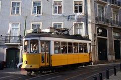 EUROPE PORTUGAL LISBON TRANSPORT FUNICULAR TRAIN Stock Photo