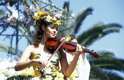EUROPE PORTUGAL MADEIRA FUNCHAL FLOWER FESTIVAL royalty free stock photo