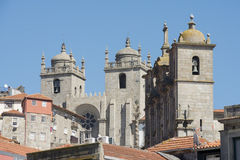 EUROPE PORTUGAL PORTO CATHEDRAL SE Royalty Free Stock Images