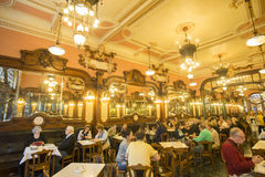 EUROPE PORTUGAL PORTO RIBEIRA CAFE MAJESTIC Royalty Free Stock Image