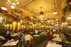 EUROPE PORTUGAL PORTO RIBEIRA CAFE MAJESTIC Stock Photo