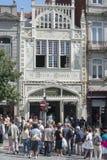 EUROPE PORTUGAL PORTO RIBEIRA LIVRARIA LELLO Royalty Free Stock Photo
