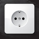 Europe power socket Royalty Free Stock Photography