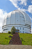 Europe's largest optical telescope azimuth. Royalty Free Stock Images