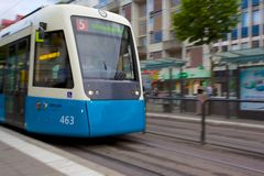 Europe, Scandinavia, Sweden, Gothenburg, City Tram Stock Images