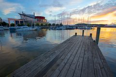 Europe, Scandinavia, Sweden, Gothenburg, Opera House & Harbour Stock Photos