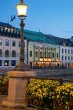 Europe, Scandinavia, Sweden, Gothenburg, Restaurant on Sodra Hamng Stock Image