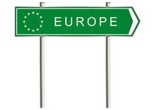 Europe sign Royalty Free Stock Images