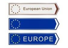 Europe sign Royalty Free Stock Image