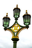 Europe in the sky     of london lantern Stock Image