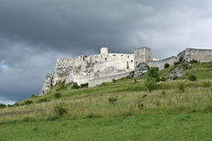 Europe, Slovakia, castle Spissky hrad Royalty Free Stock Photos