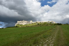 Europe, Slovakia, castle Spissky hrad Royalty Free Stock Image