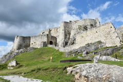 Europe, Slovakia, castle Spissky hrad Stock Images