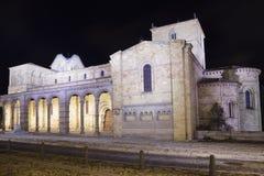 Europe, Spain, Castile and Leon, Avila, View of basilica de San Vicente stock image