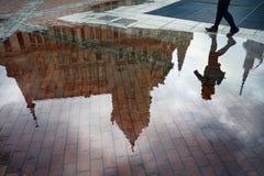 Europe Square in Batumi Stock Image