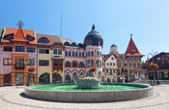 Europe square in Komarno Royalty Free Stock Photos