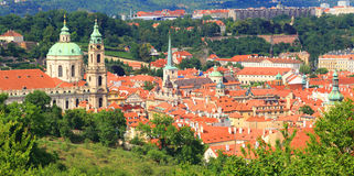 europe stara Prague linia horyzontu podróż Obraz Royalty Free