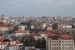 europe stara Prague linia horyzontu podróż Obrazy Royalty Free
