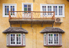 Europe Style House Royalty Free Stock Image