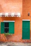 Europe Style House Stock Photo