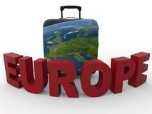 Europe travel concept Stock Photos