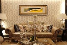 Europe type sofa Royalty Free Stock Image