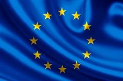 Europe flag illustration vector illustration