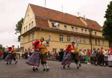 Europeade in Klaipeda, 2009 Stock Fotografie