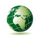 European african green globe Stock Photography