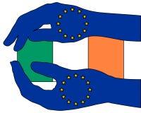 European aid for Ireland Royalty Free Stock Photos