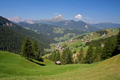 European alpine landscape Royalty Free Stock Photo